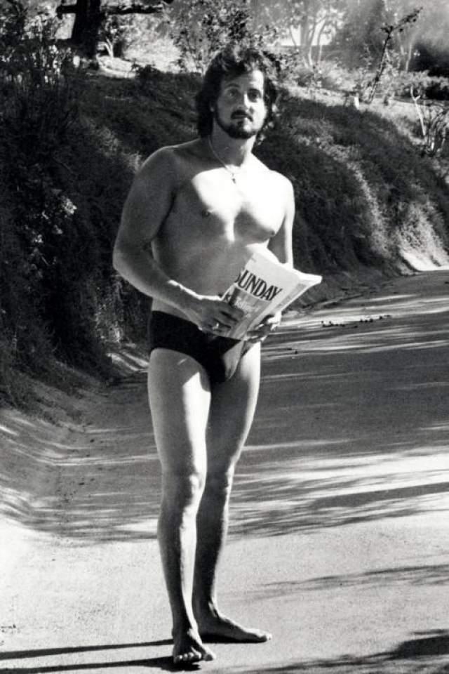 Сильвестр Сталлоне в Малибу, 1979 год
