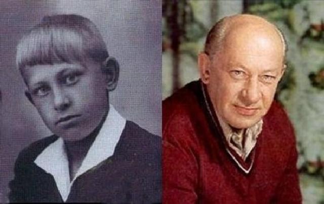 Евгений Евстигнеев в детстве и не мечтал об актерской карьере, до поступления в театральный работал электромонтером и слесарем.