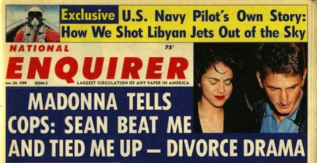 Естественно, что после этого певица подала на развод. Хотя сейчас Мадонна все равно называет Пенна самой большой любовью в своей жизни.
