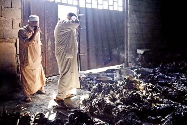 26 сентября 2011 года, после свержения М.Каддафи, в Триполи было обнаружено массовое захоронение, в котором предположительно находились до 1200 тел.