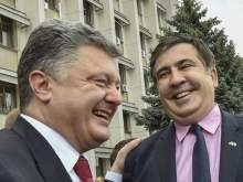 Саакашвили рассказал правду о том, сколько пьет Порошенко