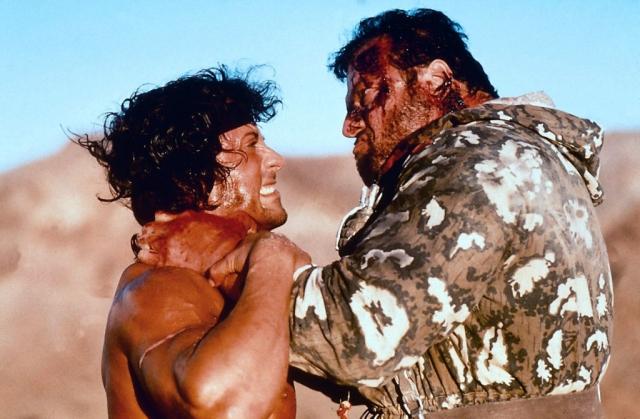 """""""Рэмбо 3 """", 1988. Фильм был официально запрещен в СССР из-за ярко выраженной антисоветской пропаганды."""
