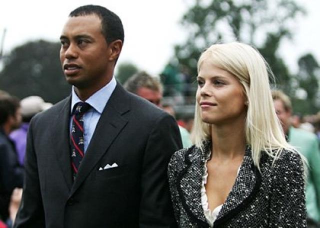 Тайгер Вудс и Элин Нордегрен. Самый известный гольфист в мире с тайско-негритянскими корнями был женат на модели-шведке.