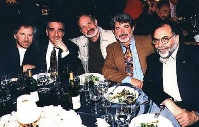 Стивен Спилберг, Мартин Скорцезе, Брайан Де Пальма, Джордж Лукас и Фрэнсис Форд Коппола.