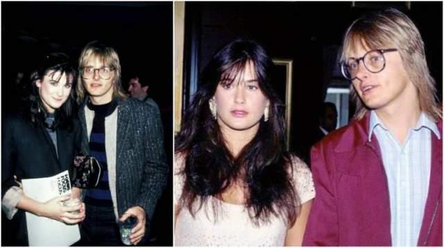 Деми Мур, 56 лет . В 18 лет актриса вышла замуж за музыканта Фредди Мура. В 1985-м они развелись, но Деми оставила себе его фамилию. С 1987 по 2000 года Деми Мур была замужем за Брюсом Уиллисом, у них родились три девочки.