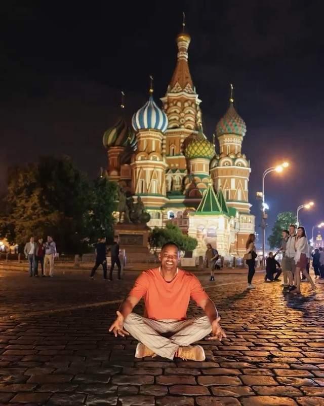 2018 год, Уилл Смит приехал на чемпионат мира по футболу в Москву.