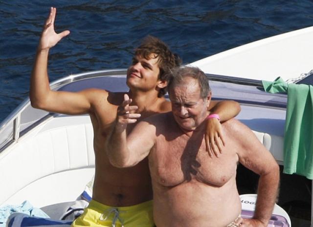 Джек Николсон со своим сыном.