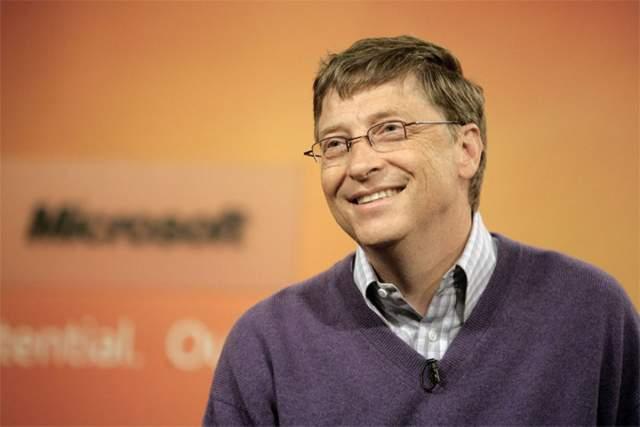 Билл Гейтс. Один из великих умов современности также типичный ботаник в очках, который не стесняется этого аксессуара.