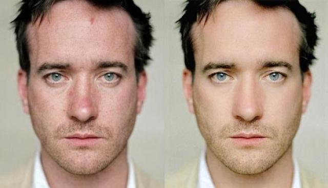 """Мэтью Макфейден. Фото актера - еще один случай, который показывает, что и фото мужчин не обходится без действия волшебной палочки под названием """"Фотошоп""""."""