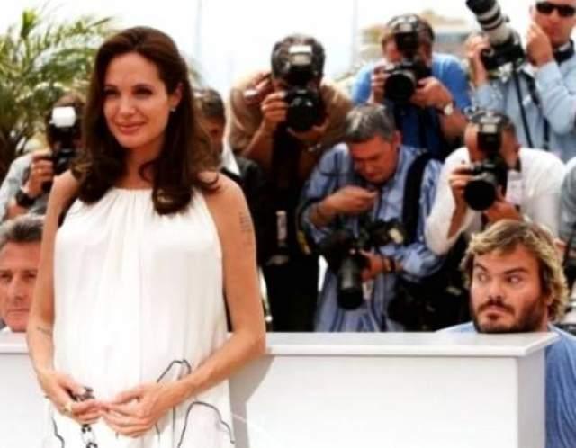 Дастин Хоффман и Джек Блек заботили фото Анджелины Джоли