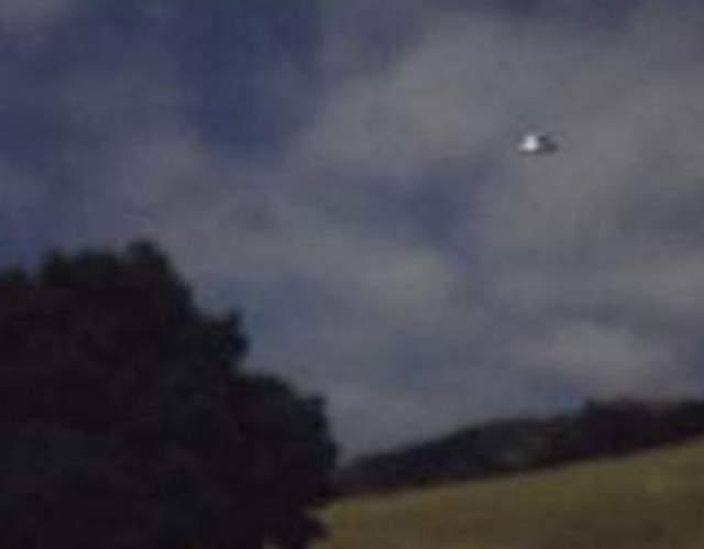 Фотография неопознанного летающего объекта сделанная в Шотландии, 1947 год