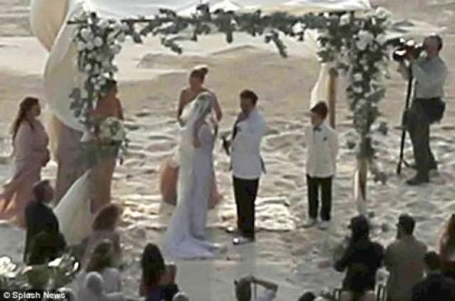 """А поженились возлюбленные язе до выхода """"Ромового дневника"""" на большие экраны."""