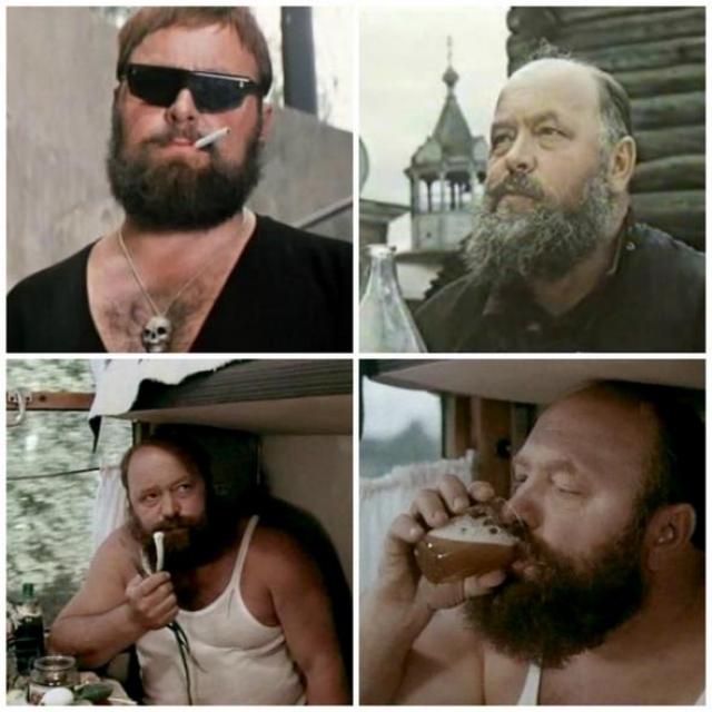 Леонид Плешаков. Снимаясь в эпизодических ролях, он сделал образы своих героев яркими и запоминающимися, а многие реплики разошлись на цитаты. Всего он снялся в 11 фильмах.