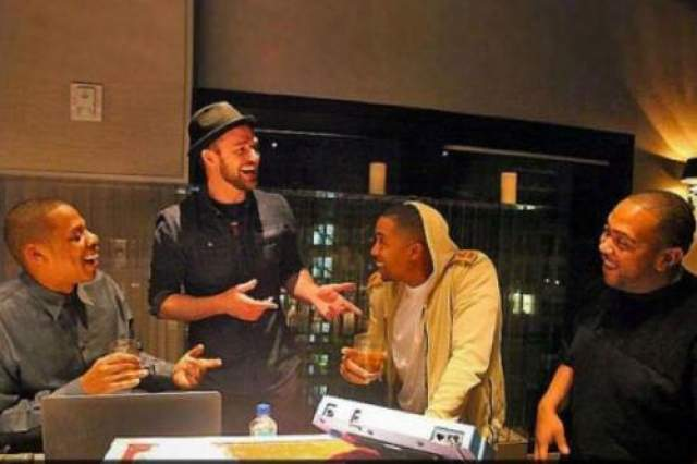 Jay-Z, Джастин Тимберлейк, Nas и Timbaland