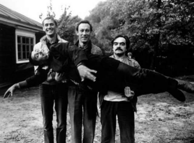 """На съемках фильма """"Храни меня мой талисман"""". Автор Гневашев Игорь, 1986 год"""