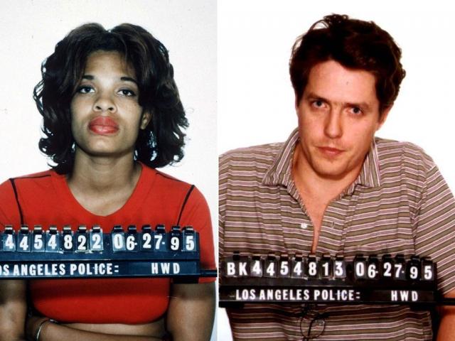 Неизвестно, каковы были причины, побудившие его броситься в сомнительные приключения, но однажды ночью полиция обнаружила его с проституткой из Лос-Анджелеса Дивайн Браун. Херли подала на развод, а поклонники актера недоумевали, как же он решился на такое.