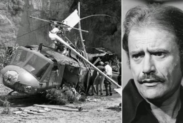 Вместе с детьми погиб и актер Вик Морроу, оказавшийся рядом.
