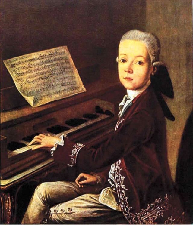 Вольфганг Амадей Моцарт. Вот уж кто был поистине экстравагантной личностью, одержимой отнюдь не одной лишь музыкой.