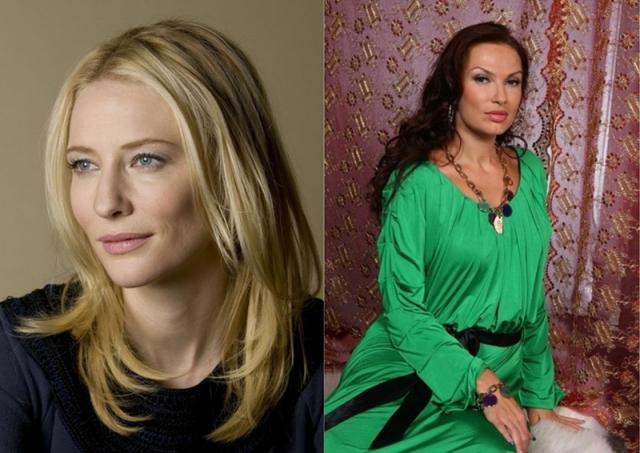 Кейт Бланшет и Эвелина Бледанс (48 лет). Внешность двух женщин настолько разная, что сравнивать ее довольно сложно, но ни про ту, ни про другую не скажешь, что им скоро 50.