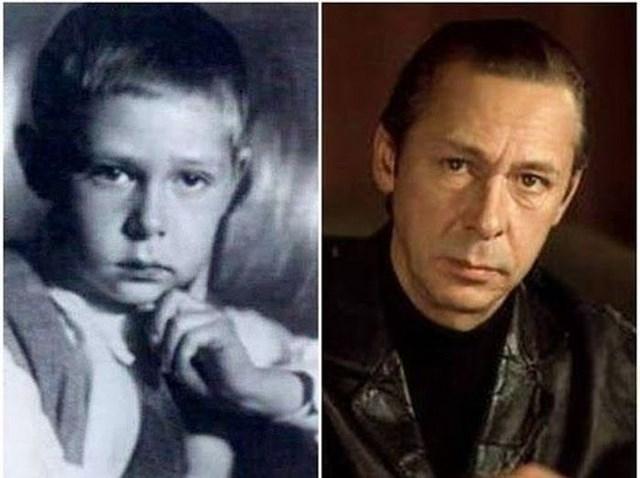 Глядя на эти два снимка, можно подумать, что Олег Ефремов с годами практически не менялся!