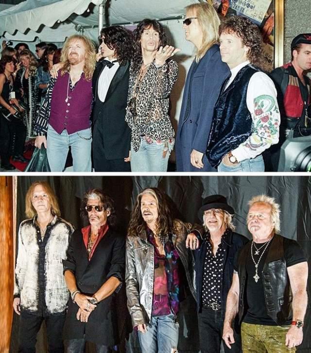 Aerosmith. Американская рок-группа жива по сей день.