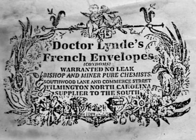 В 1840-е реклама презервативов появилась в английских газетах, а в 1861 — в New York Times.