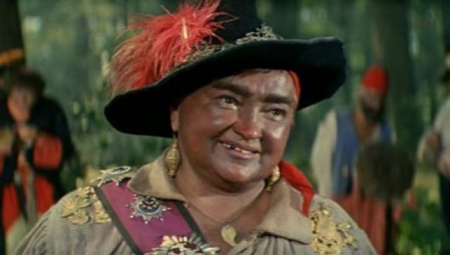 """И, пожалуй, самая известная - Атаманша разбойников в """"Снежной королеве"""". Скончалась Ольга Артуровна Викланд 5 мая 1995 года."""