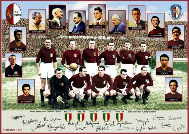 """4 мая 1949 года, Турин, футбольный клуб """"Торино"""". 18 сильнейших игроков Аппенин возвращались с игры с """"Бенфикой"""" из Португалии. Во главе команды стоял прославленный Валентино Маццола, с ними же летели руководители клуба и трое журналистов из ведущих итальянских газет."""