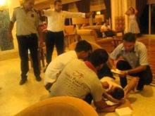 Турок в отеле видео