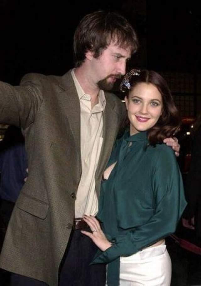 Вторым мужем Дрючком стал актер Том Грин, с которым она тоже прожила год.