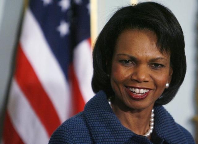 Кондолиза Райс. 66-й Государственный секретарь США никогда не была замужем и детей у нее нет.