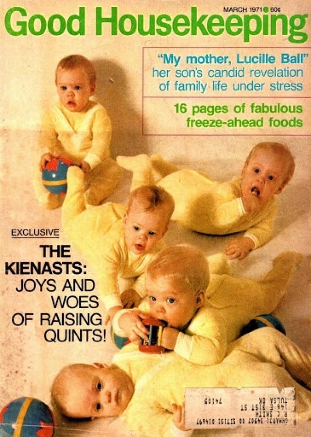 Малыши родились у Уильяма и Пегги Джо Кинаста в Нью-Йорке, США.