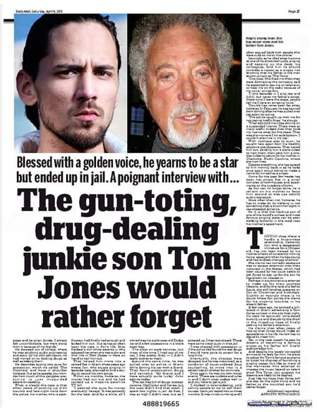 Джон начал чувствовать себя несчастным, брошенным, склонным к мятежу и протесту, начал принимать наркотики и неоднократно задерживаться полицией, обвиняя во всем произошедшем именно отца.