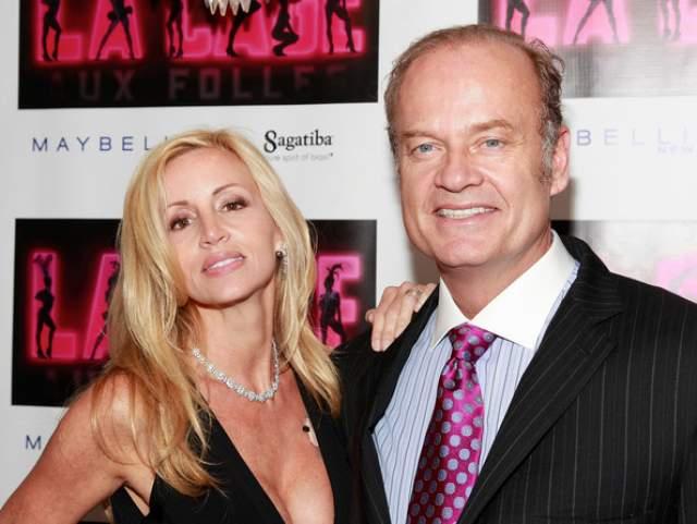 """Келси Грэммер. Третий брак комедианта-актера с Камиль Донатаччи, бывшей моделью """"Playboy"""", продлился почти 15 лет. Это не стало препятствием для нового романа артиста."""