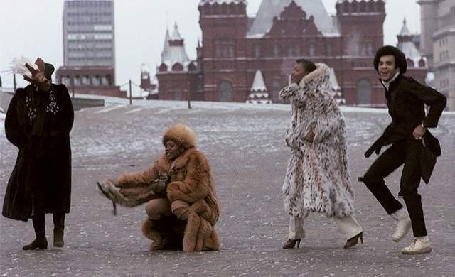 """1978 год, группа """"Бони М"""" впервые на гастролях в СССР."""