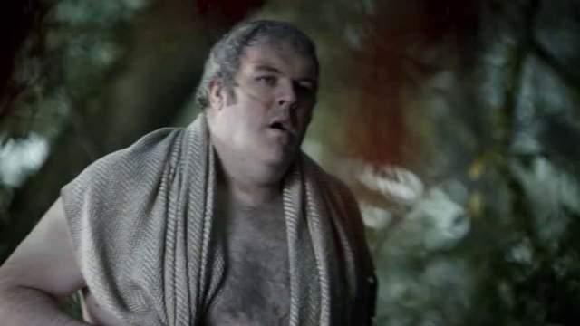"""Кристиан Нэйрн. Слуга семьи Старков в популярном сериале """"Игра престолов"""" произнес за весь сериал несколько раз одну и ту же фразу - свое имя: """"Ходор"""". Вот и вся работа - непыльная вроде, да?"""