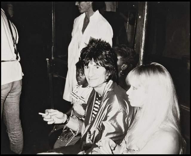 """Ронни Вуд , музыкант """"Rolling Stones"""""""