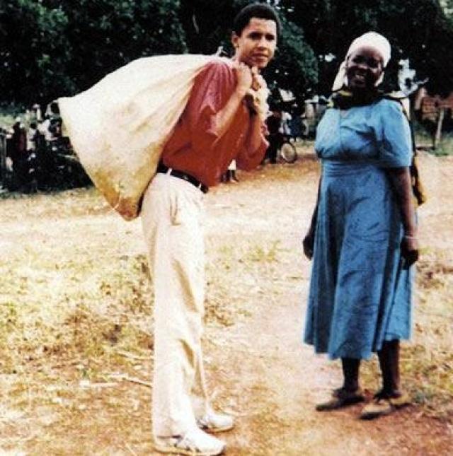 Однажды Обама признался, что индиец Махатма Ганди, белый американец Авраам Линкольн и афроамериканец Мартин Лютер Кинг – это люди, на которых он хотел походить всегда.