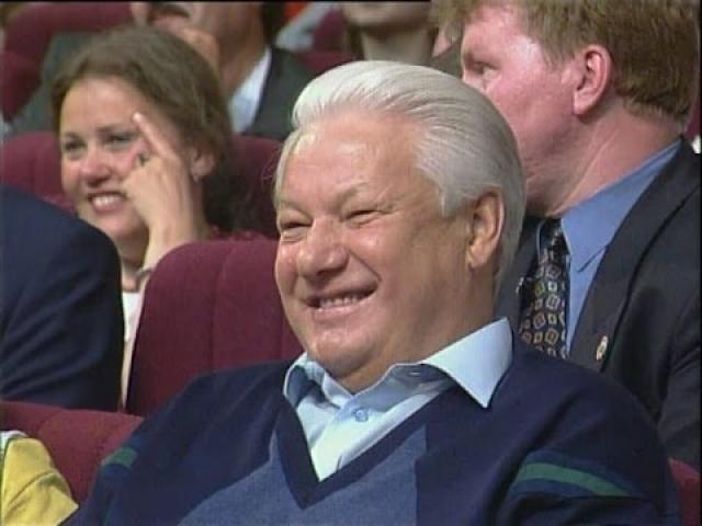 Согласно опросу, проведенному социологами исследовательской компании Romir monitoring в 2003 году, большинство москвичей считают самым комическим событием в российской истории… Бориса Николаевича Ельцина.