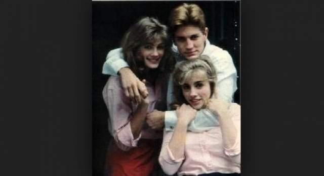 Джулия Робертс с братом и сестрой.