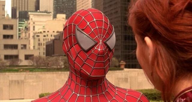 """""""Человек-паук"""" . Знаменитый герой комиксов впервые появился на большом экране в 2002 году."""