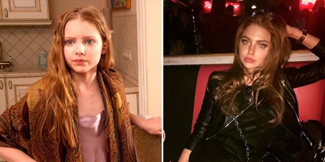"""Алина Булынко. Дочь главных героев из комедии """"Любовь-морковь 2"""" не стала строить актерскую карьеру."""