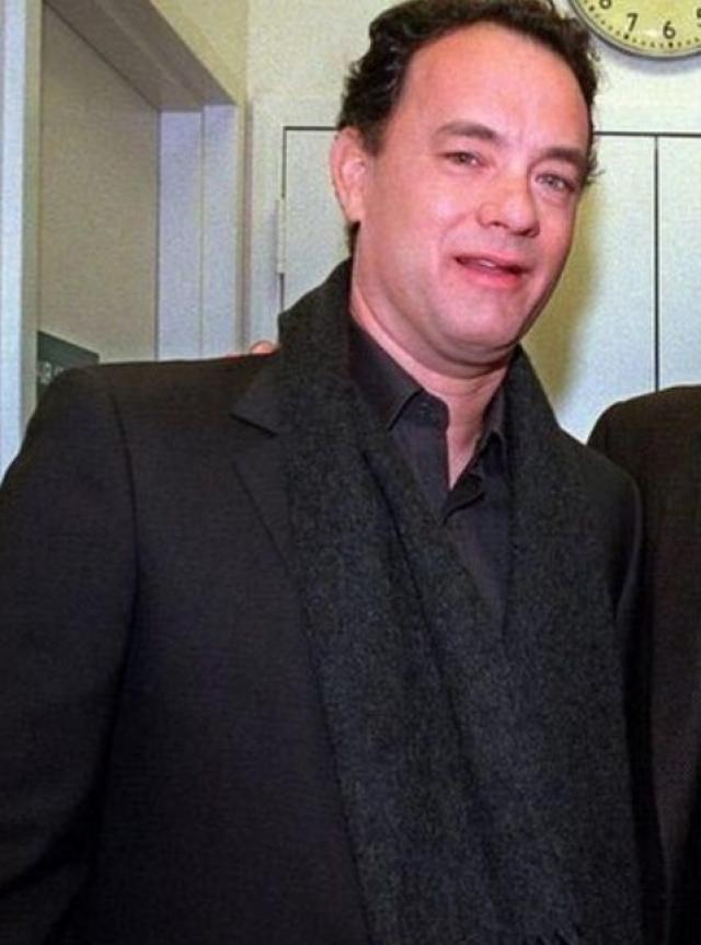 """Том Хэнкс. Для роли в фильме """"Изгой"""" актеру пришлось скинуть 25 кг всего за четыре месяца."""