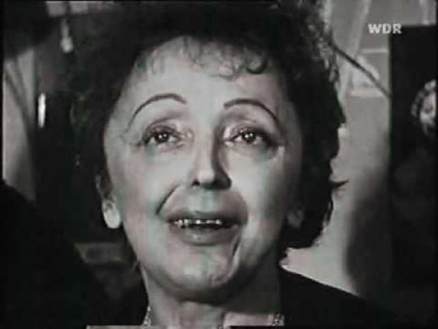 Последнее ее выступление на сцене состоялось 18 марта 1963 года. Зал стоя устроил ей пятиминутную овацию. 10 октября 1963 года Эдит Пиаф скончалась.