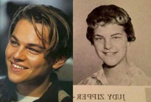 Леонардо Ди Каприо и женщина из 1960-х по имени Джуди Зиппер