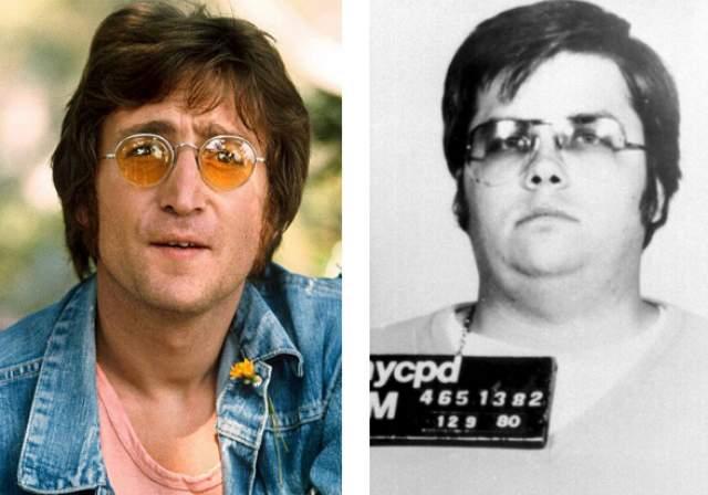 Марк Чепмен. Жертва: Джон Леннон. 8 декабря 1980 года лидера группы The Beatles застрелили во дворе его дома в Нью-Йорке.