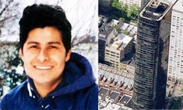 Мужчина выжил, упав с высоты 150 метров В 2007 году мойщик окон Алсиедес Морено упал с 47-го этажа, когда был на работе. К несчастью, его брат, который тоже упал, не выжил.