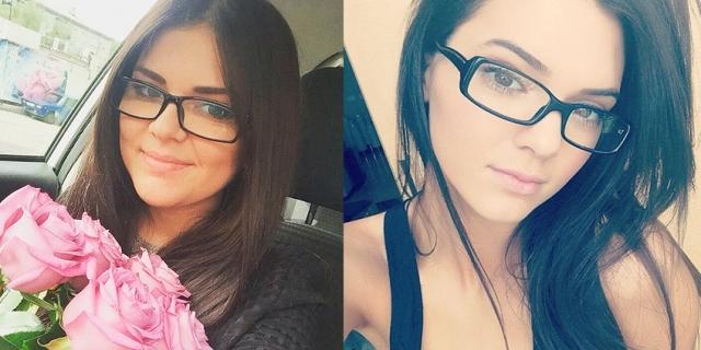 В России нашелся двойник и американской модели Кендалл Дженнер - курганская студентка Дарья Мясоедова.