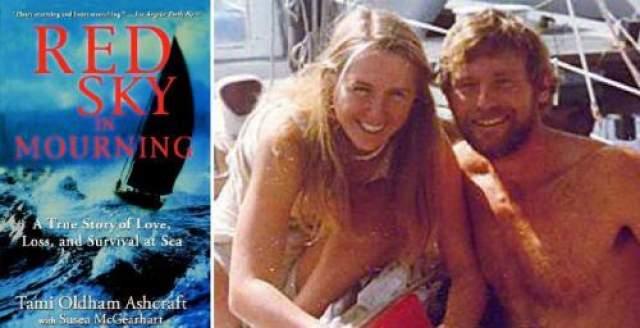 """Тами построила временную мачту, вычерпала воду из каюты и продолжила путешествие, ориентируясь по звездам. Ее плавание в одиночку продолжалось 41 день, запасов воды, арахисового масла и консервов еле хватило, чтобы не умереть от истощения. В итоге девушку в одиночку проплыла 2400 км и самостоятельно зашла в гавайскую гавань Хило. О своем печальном путешествии, случившемся в 1983 году, Тами Эшкрафт рассказала лишь в 1998 году в книге """"Небо, багровое от печали""""."""