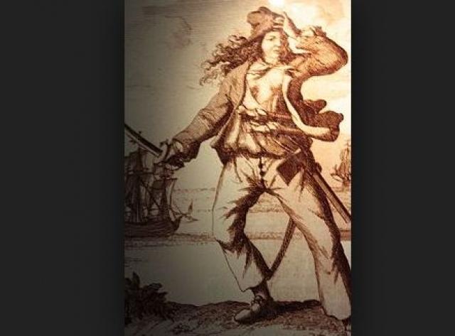 Мэри Рид (1685-1721). Мать будущей головорезки пыталась скрыть гибель рано умершего сына, переодевая девочку в мужскую одежду. Неудивительно, что в 15 лет Мэри пошла служить в армию.